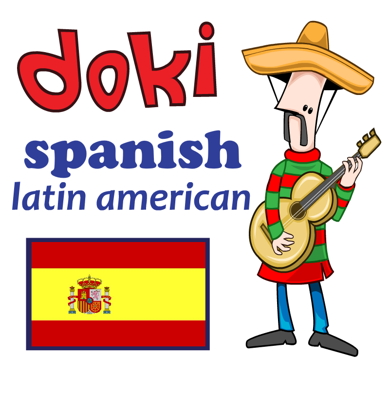 Learn Basic Latin American with Doki HD